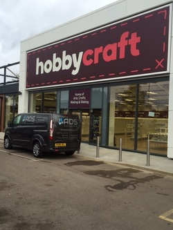 Automatic Door Installation Ipswich for Hobbycraft new build