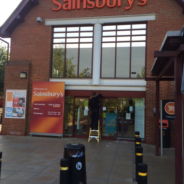 Automatic door sensor upgrade Sainsbury Chipping Ongar Essex