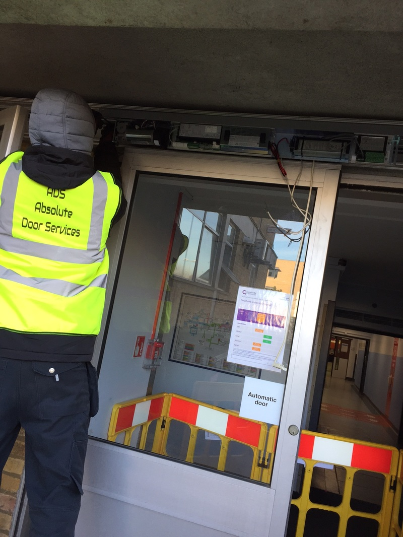 ADS Door Services carry out a risk assessment on automatic doors in Southend On Sea Essex